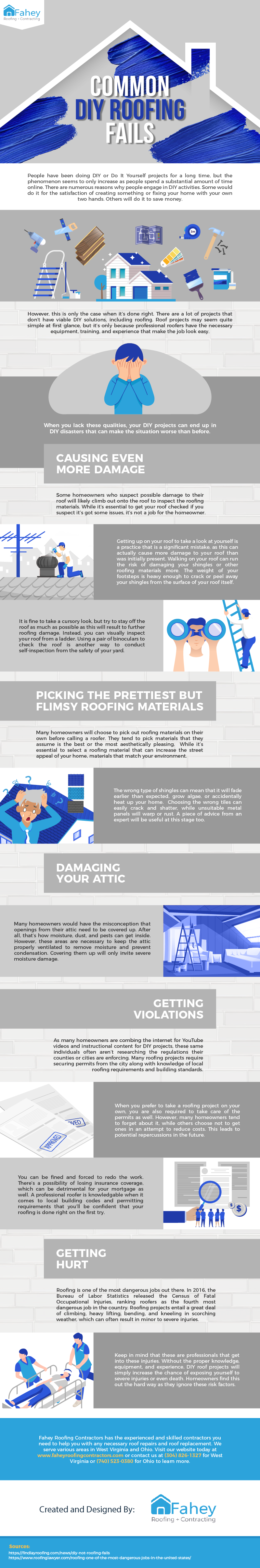 Common DIY Roofing Fails
