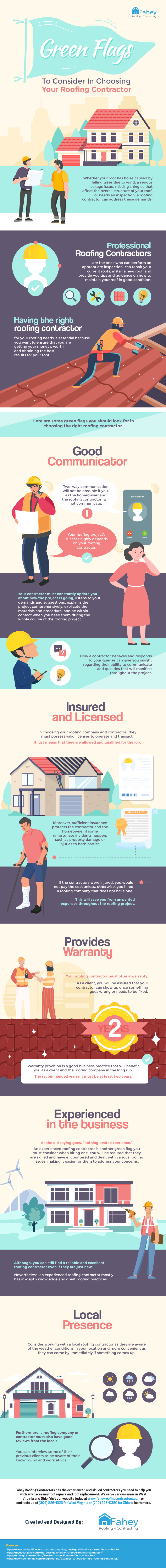 Green-Flags-to-Consider-in-Choosing-Your-Roofing-Contractor-Infographic